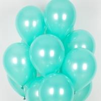 헬륨풍선 펄민트그린