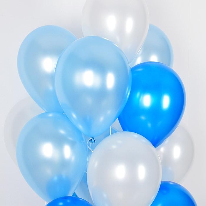헬륨풍선 블루오션 10개묶음 [차량배달] 온라인한정