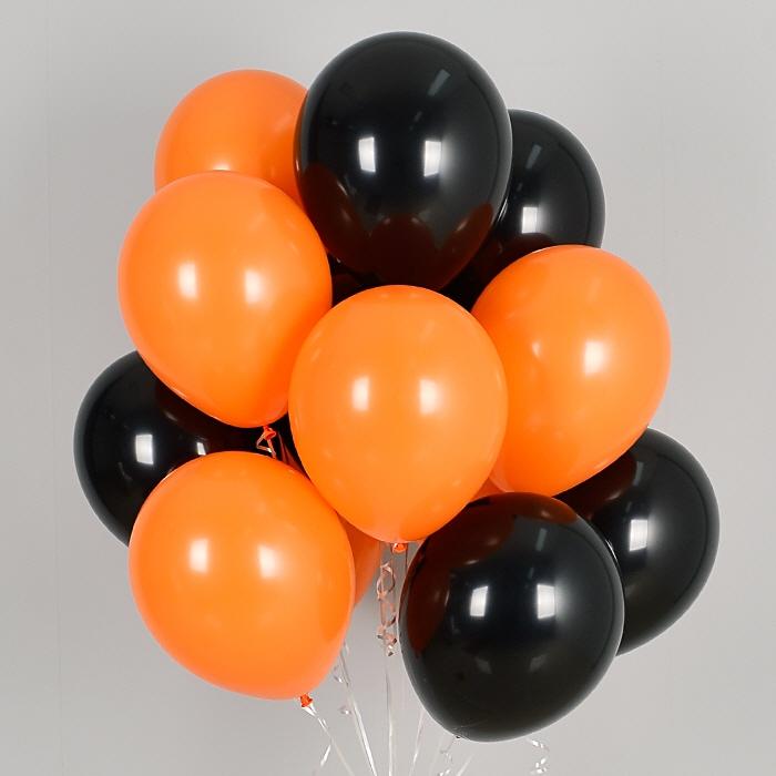 헬륨풍선 해피할로윈 10개묶음 [차량배달] 온라인한정