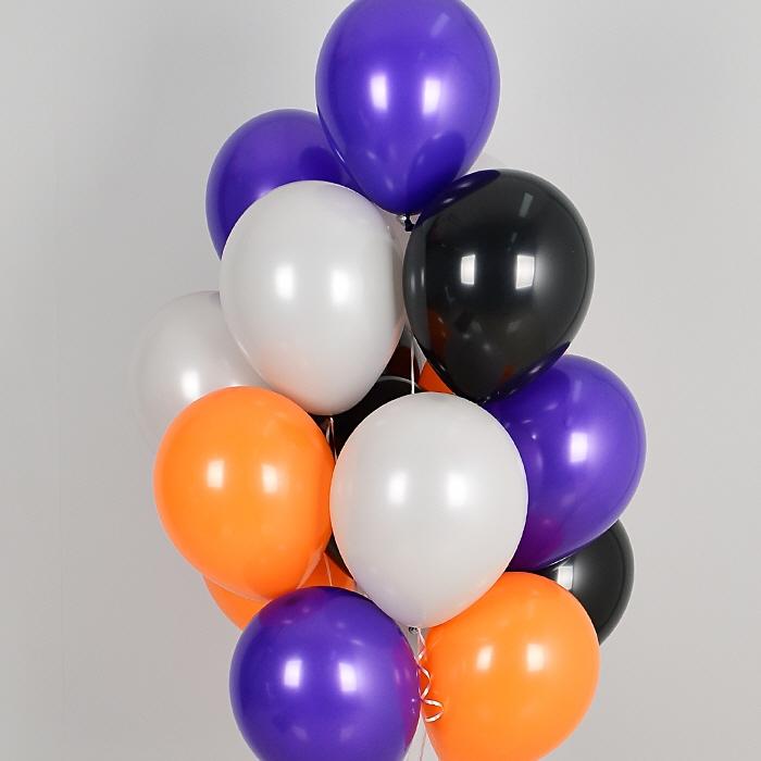 헬륨풍선 할로윈 고스트 10개묶음 [차량배달] 온라인한정