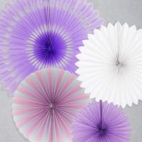 페이퍼휠 데코세트 4입 퍼플톤 [10% 추가할인/온라인한정]