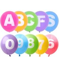 [조이벌룬] 30cm 알파벳/숫자풍선 모음