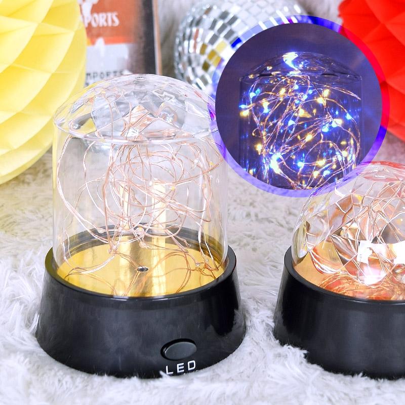 LED와이어전구 무드등 원통형