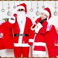 산타복 모음 (성인/아동/산타복세트/원피스/망토/산타모자/장갑/양말/자루)