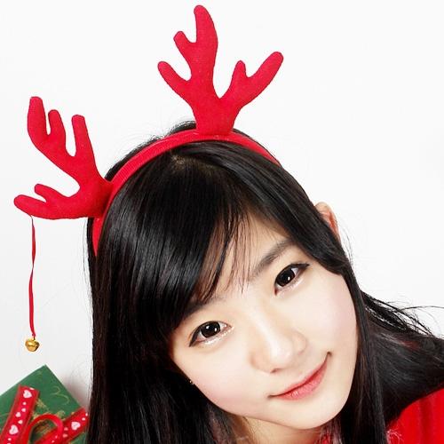 크리스마스 머리띠 모음 (고깔/루돌프/글리터/산타/트리/점등/LED)