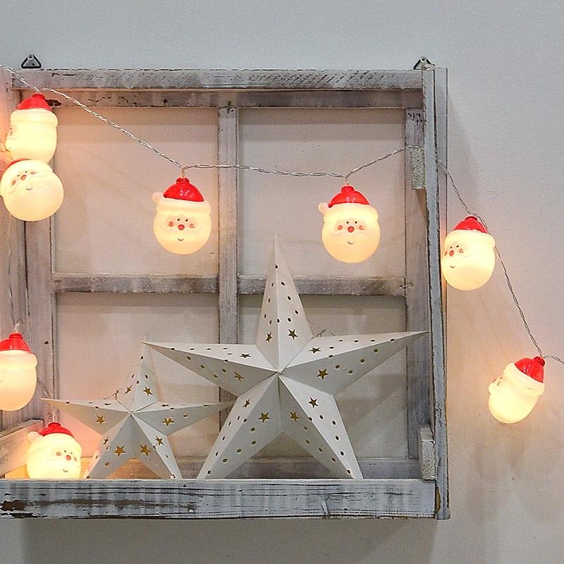 크리스마스 가랜드 모음(글리터/코튼볼/펠트/LED/전구/목재)