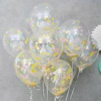 컨페티 헬륨풍선 롤리팝 10개묶음 [차량배달] 온라인한정