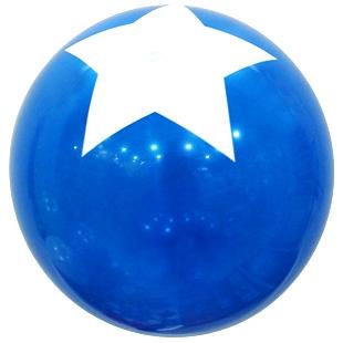 30cm 스타탑 블루 4입