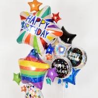 생일풍선 모음 (고무/은박/인쇄/컨페티)
