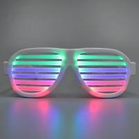 소리에 점등하는 LED 이퀄라이저 안경