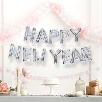 은박풍선세트 HAPPY NEW YEAR 실버