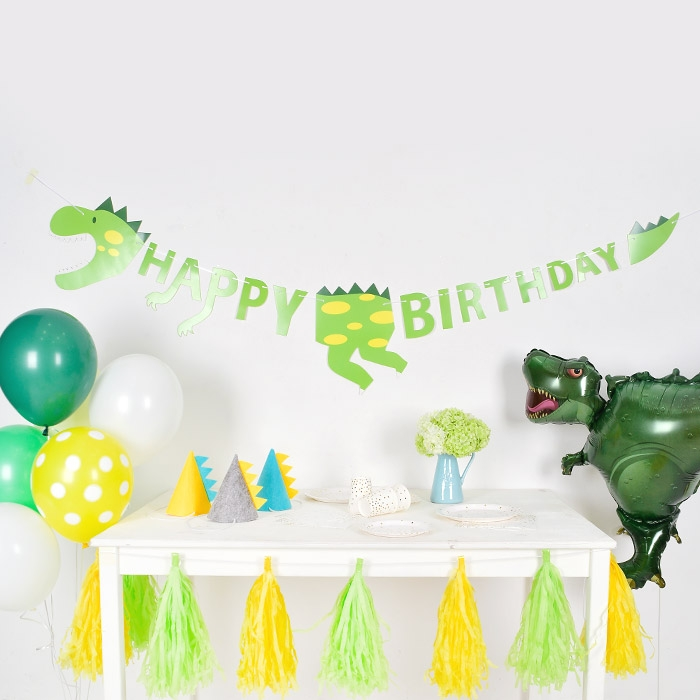 공룡 생일가랜드