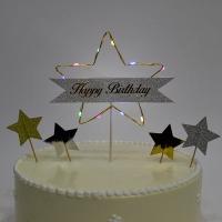 LED점등 케익토퍼 생일별
