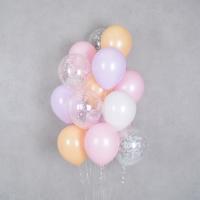 컨페티 헬륨풍선 체리블러썸 10개묶음 [차량배달] 온라인한정