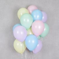 헬륨풍선 파스텔메이트 혼합 10개묶음