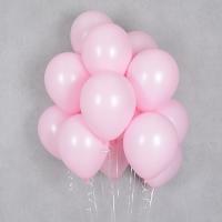 헬륨풍선 파스텔메이트 핑크 10개묶음 [차량배달] 온라인한정