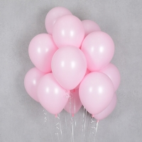 헬륨풍선 파스텔메이트 핑크 10개묶음