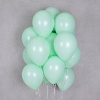 헬륨풍선 파스텔메이트 그린 10개묶음