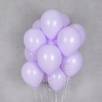 헬륨풍선 파스텔메이트 라벤더 10개묶음 [차량배달] 온라인한정