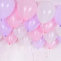 천장풍선세트 파스텔 유니콘 (풍선20개+컬링리본+스폰지닷) 온라인한정