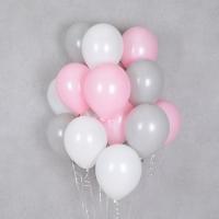 헬륨풍선 모던핑크 10개묶음 [차량배달] 온라인한정