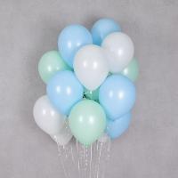 헬륨풍선 프레쉬 3색혼합 10개묶음 [차량배달] 온라인한정