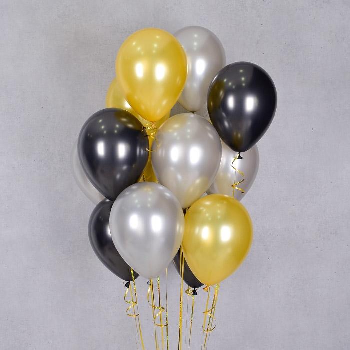 헬륨풍선 펄시크 3색혼합 10개묶음 [차량배달] 온라인한정