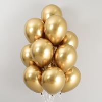 헬륨풍선 리플렉스 골드 10개묶음 [차량배달] 온라인한정