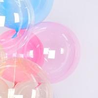 칼라버블벌룬 24인치 핑크