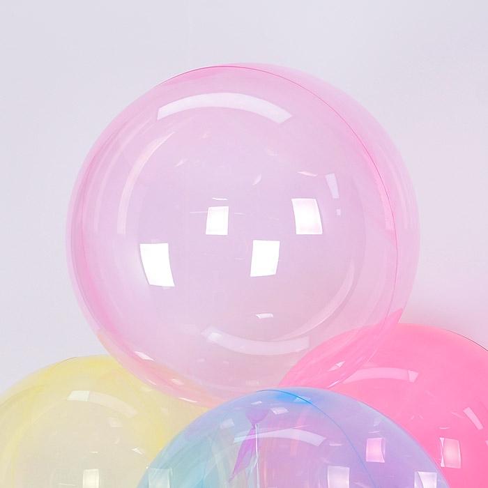 칼라버블벌룬 30인치 핑크