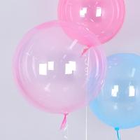 헬륨 칼라버블벌룬 30인치 핑크