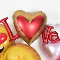 은박헬륨풍선 Satin infused Love 슈퍼쉐입 [차량배달] 온라인한정