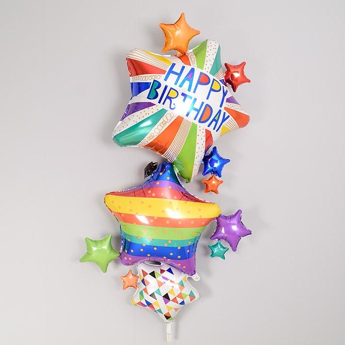 은박풍선 생일스타스 멀티벌룬
