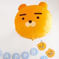 [KAKAO] 헬륨풍선 24인치 라이언 [차량배달] 온라인한정
