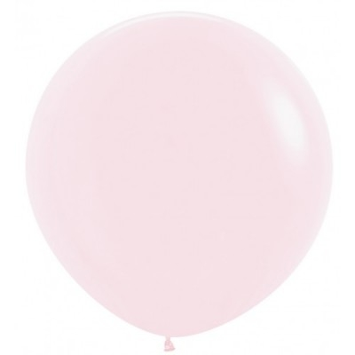 90cm 대형풍선 파스텔메이트 핑크