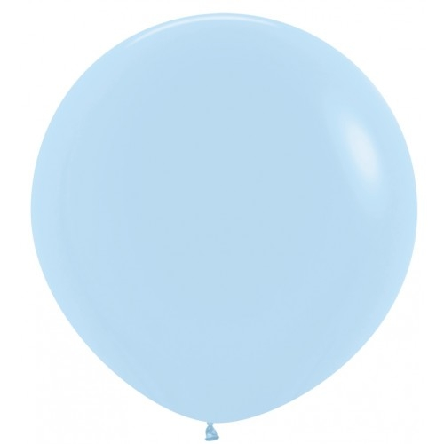 90cm 대형풍선 파스텔메이트 블루