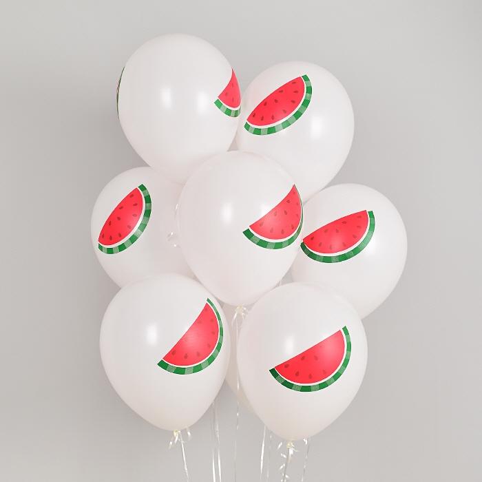 헬륨풍선 수박 10개묶음 [차량배달] 온라인한정