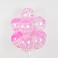헬륨풍선 그래피티 핑크 5개묶음