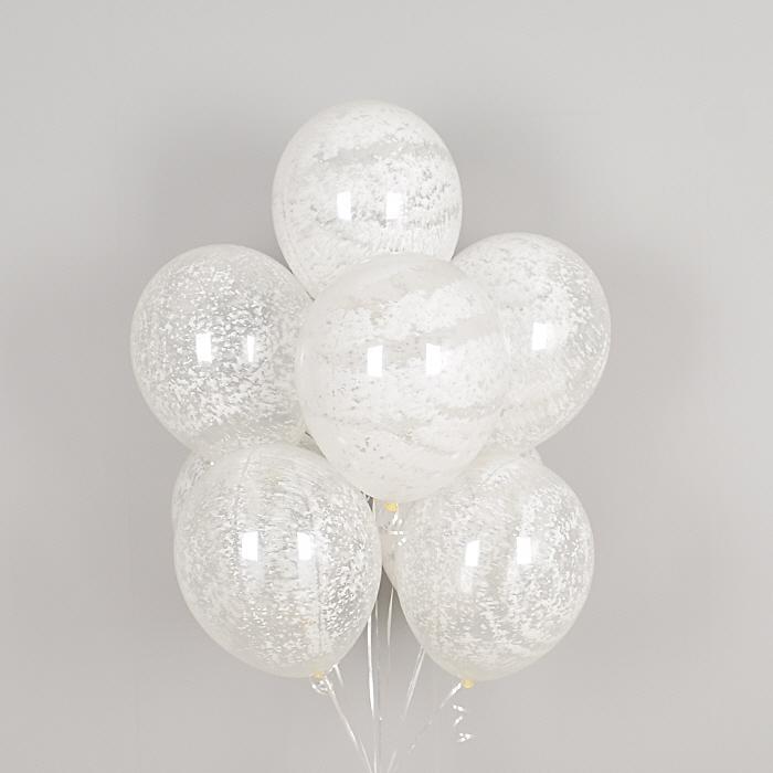 헬륨풍선 그래피티 스노우 5개묶음