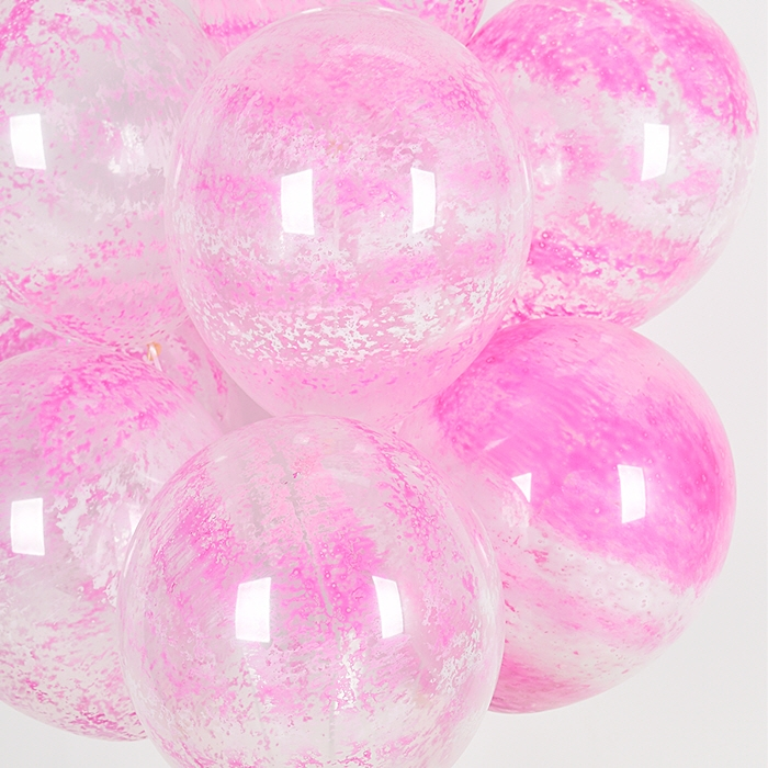 30cm 그래피티벌룬 핑크 50입