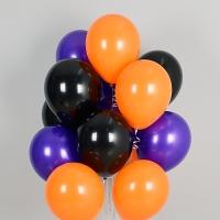 헬륨풍선 할로윈 3색혼합 10개묶음