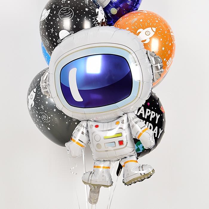 은박헬륨풍선 우주비행사 [차량배달] 온라인한정