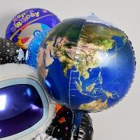 은박풍선 20인치 지구