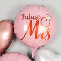 은박풍선 라운드 22인치 Future Mrs