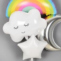 은박헬륨풍선 구름 [차량배달]