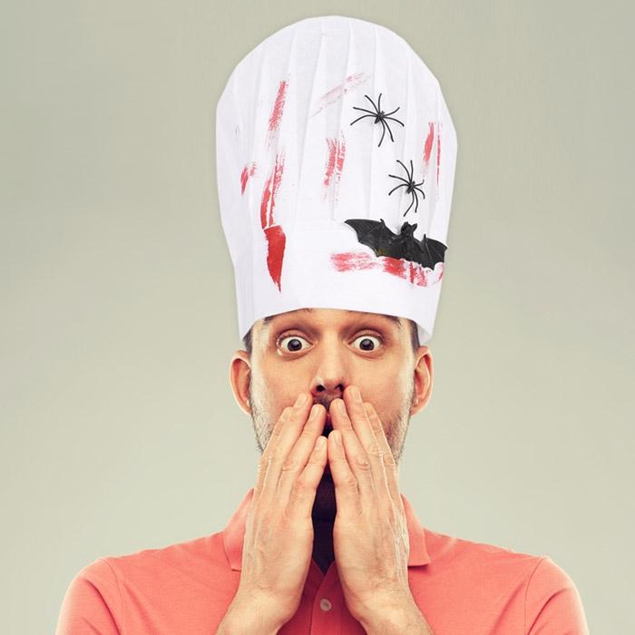 호러 요리사모자