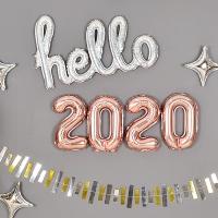 은박풍선세트 2020 소 로즈골드