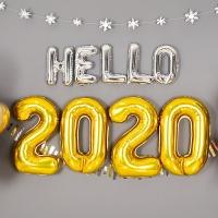 은박풍선세트 2020 중 골드
