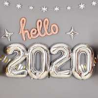 은박풍선세트 2020 중 실버