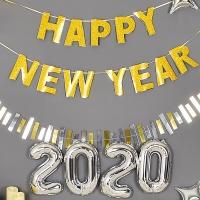 레터가랜드 HAPPY NEW YEAR 골드